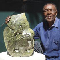 Zimbabwean artist Edward Chiwawa portrait photo