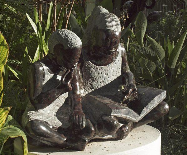 Teach Me To Read by Jonathan Mhondorohuma - front left