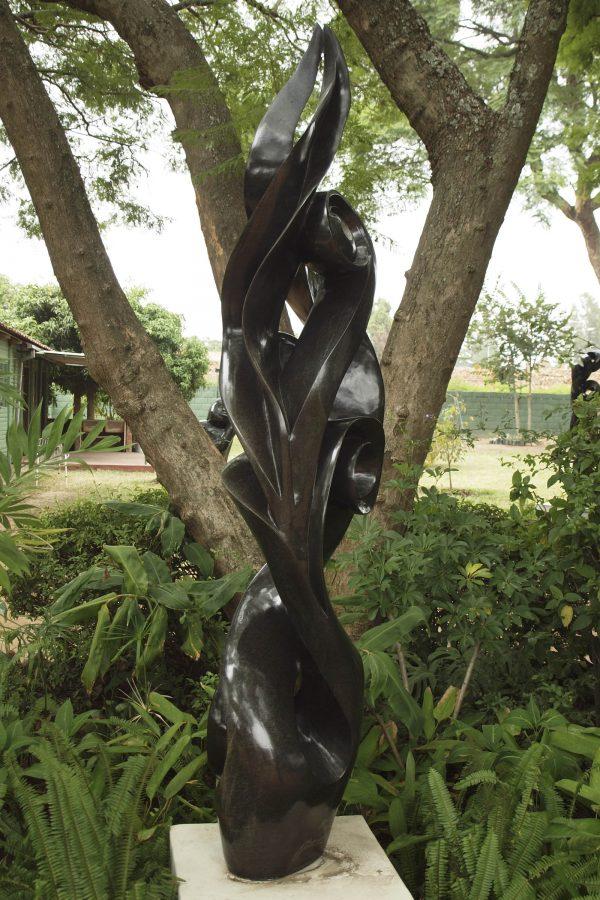 Ululating by Onias Mupumha - back left