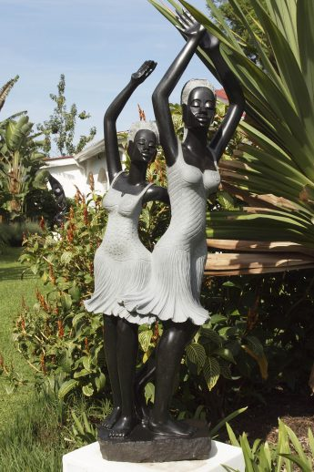 Shona sculpture My Sister Loves Me by Rufaro Murenza