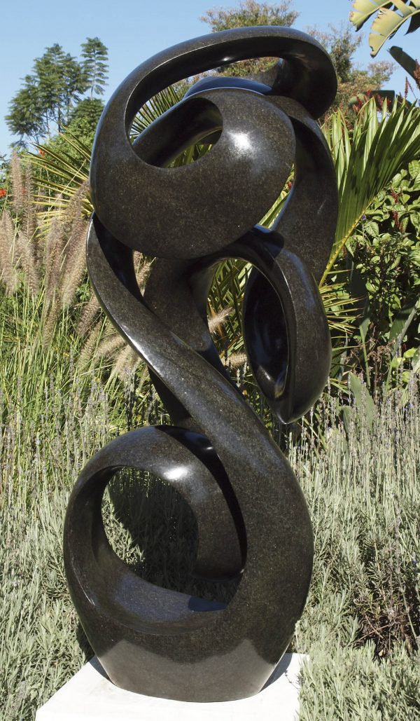 Zimbabwean sculpture 'Rupawo' (Defining Feature) by Tonderai Sowa