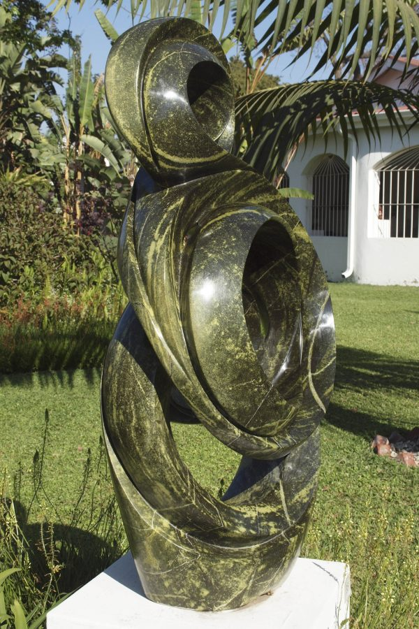 Shona sculpture Spirit of Success by Willard Bopoto