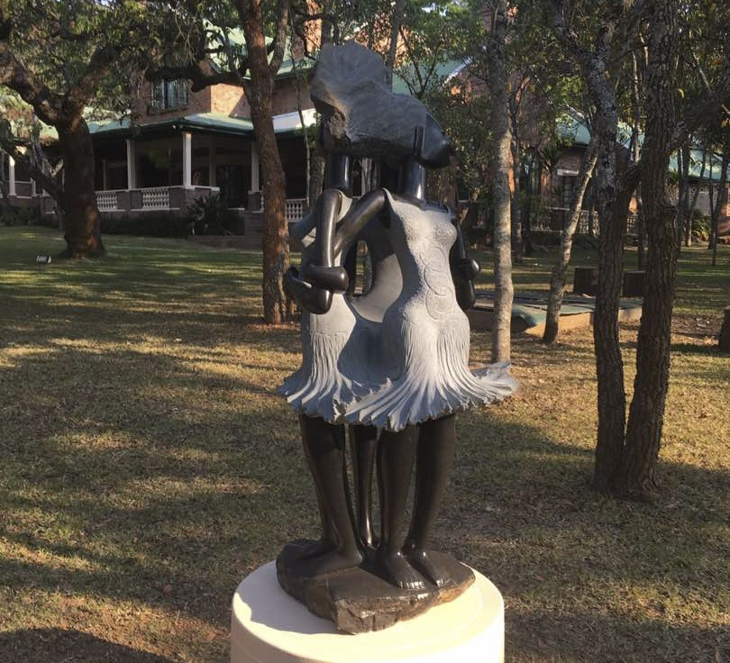 sculpture in harare garden