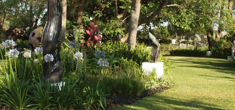 SSG sculpture garden