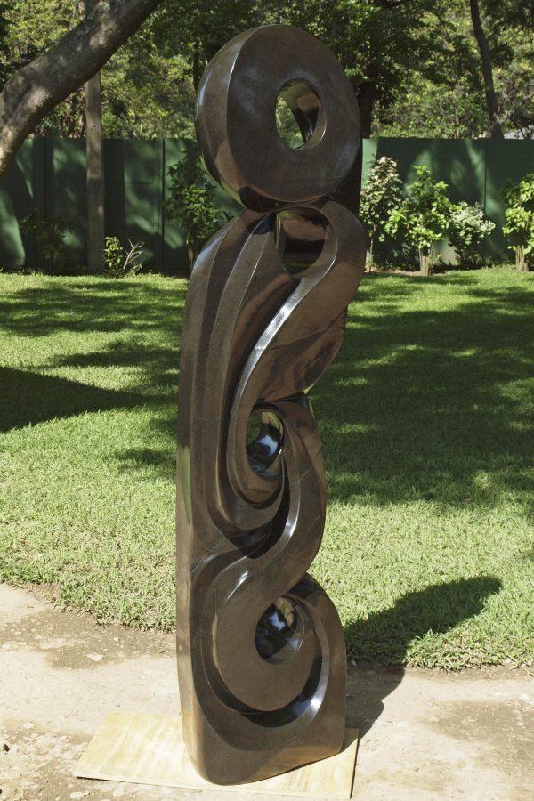 Zimbabwean sculpture A Life Of Love by Antony Masamba